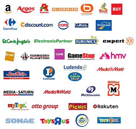 Stores and companies where Together Plus items can be found